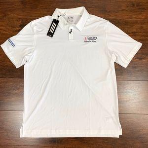 Adidas UPF 50 SS 2-Buttons Stretch Golf Polo Shirt
